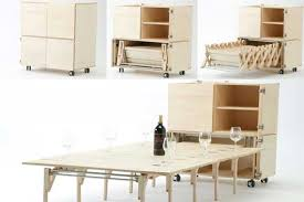 Space Saving Dining Tables And Chairs Creative And Unique Space Saving Dining Table And Chairs