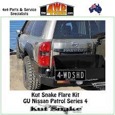 nissan patrol y61 australia kut snake flare kit nissan gu y61 patrol series 4 full kit