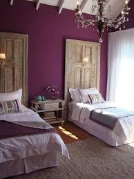 Light Purple Walls by Bedroom U0027headboards U0027 A Bohemian Penthouse With Purple Accents