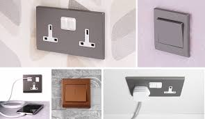 modern electrical switches simplicity retrotouch designer light switches u0026 plug sockets