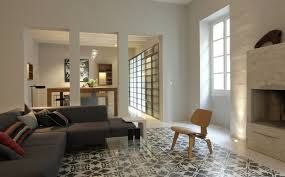 eames chair living room modern cream wall modern interior with eames chair that can be