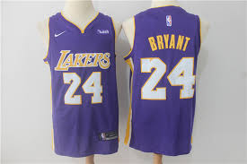 nba los angeles lakers 24 kobe bryant jersey 2017 18 new season