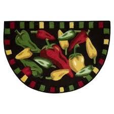 pretty chili pepper kitchen rugs rug ideas