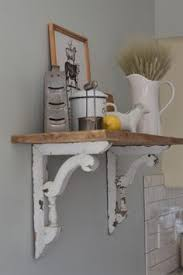Wooden Shelf Building by Little Cottage Kitchen Dreams House Magazine Polished Pebble