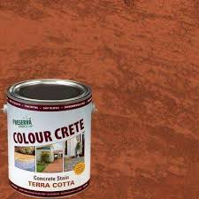concrete stain exterior stain u0026 waterproofing the home depot