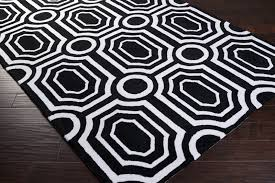 Geometric Outdoor Rug Black And White Geometric Rug Rug Designs