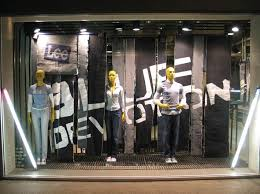 best 25 denim window display ideas on denim display