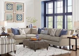 Sofa Bed Rooms To Go by Piedmont Gray 3 Pc Sectional Living Room Living Room Sets Gray