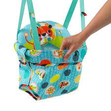 amazon com bright starts kaleidoscope safari door jumper baby