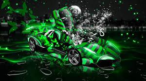 Lamborghini Murcielago Lime Green - lamborghini murcielago fantasy underwater butterfly 2014 el tony