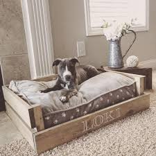 Elevated Dog Bed With Stairs 8 Best For The Dogs Images On Pinterest Pet Beds Puppies And
