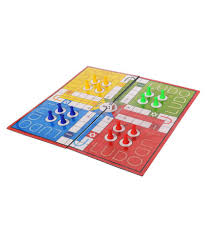 gsi multicolor ludo and chess kids board game with laminated pvc