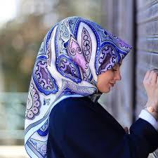 silk home silk home kiasik desen mavi eşarp ferace org