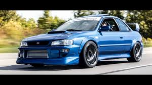 subaru 22b wallpaper jdm classic subaru impreza gc8 rsti youtube
