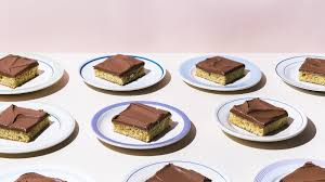 yellow sheet cake with chocolate sour cream frosting recipe bon