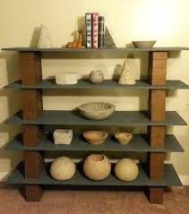 Cheap Wood Bookshelves by Concrete Block Bookshelves Cinderblock Furniture Ez Diy