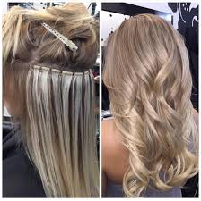 beaded hair extensions pros and cons beaded weft during after extensions by chrissiibombhair by