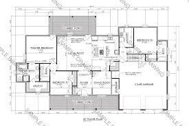 Sample House Blueprints