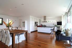 contemporary home interior design kitchen open to dining room captainwalt com