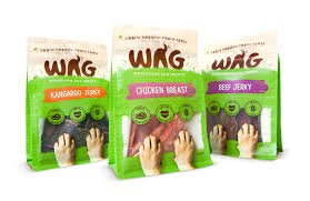 wag treats on packaging of the world creative package design