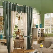 Sage Green Country Curtains Sudbury Sage Green Splice No Valance