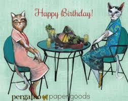 animal birthday card birthday duck card unique best friend