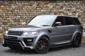 range rover sport silver used 2016 land rover range rover sport for sale in north yorkshire