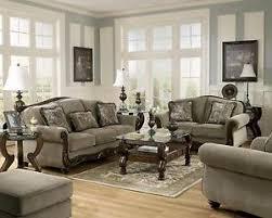 3 Pc Living Room Set Martinsburg Traditional Sofa Seat Chair 3 Pc Living