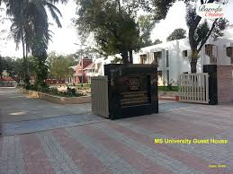 baroda photographs ms university guest house