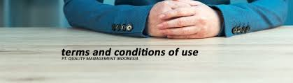 Terms And Conditions Of Use by Terms And Conditions