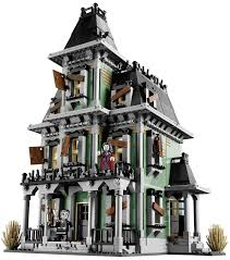 Halloween Monster House Lego Announces Amazingly Detailed Haunted House Building Set For