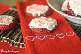 valentine treat red velvet cake cookies mommy hates cooking