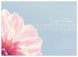 Invitation Card Message Easy To Personalize Flower Dots Invitation Card Templates