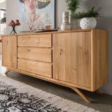 Schlafzimmer Naturholz Massivholz Kommoden Kommode Holz Pharao24