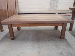 handmade zebrawood purpleheart and black walnut coffee table by