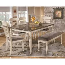 Ashley Dining Room Tables And Chairs Innovative Ideas Ashley Furniture Dining Table With Bench Valuable