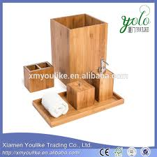 Bamboo Bathroom Accessories by List Manufacturers Of Bathroom Accessories Made Of Bamboo Buy