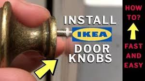how to install ikea kitchen cabinet handles how to install ikea door knobs fast and easy