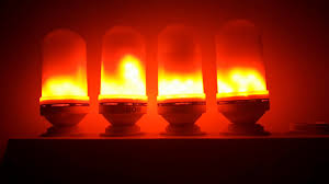 led flame effect fire light bulb flickering emulation flame lamp
