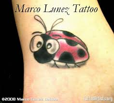 again ladybug tattoo design real photo pictures images and