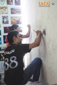 iacg multimedia 8 best iacg multimedia wall painting by students images on pinterest