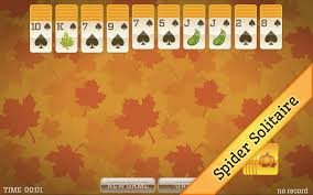 halloween solitaire background amazon com fall solitaire classic solitaire spider solitaire