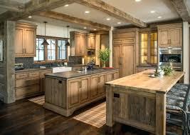 cuisine chaleureuse meuble de cuisine en bois pas cher dcoration cuisine cagne