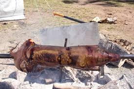 spit roast pig u2013 brass monkey 2012 u2013 carazy suburban permaculture