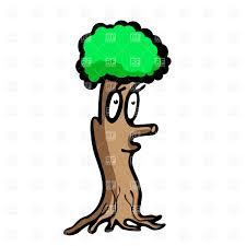 funny cartoon tree with face vector image 16141 u2013 rfclipart