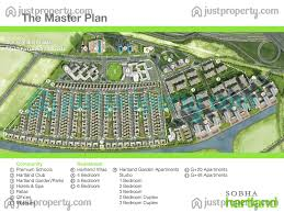 Floor Plans For Schools Mbr City Sobha Hartland Floor Plans Justproperty Com
