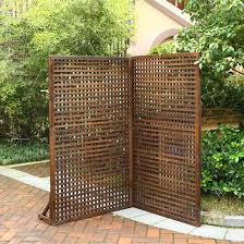 usd 6 00 new preservative wood fence screen partition wood mesh