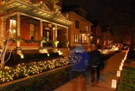 Christmas Lights Columbus Ohio A German Village Shopping Tour And Magical Holiday Event