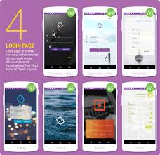 android app design material design ui android template app by creativeform codecanyon