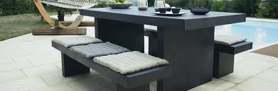 cement table and chairs outdoor cement bench concrete patio furniture how to make table